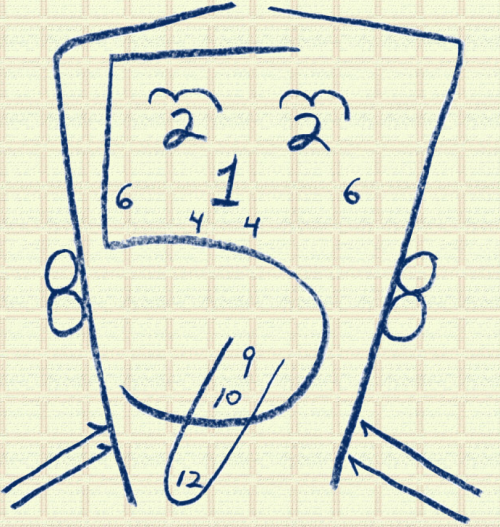 *Reblog* bloopz:  Cranial Nerves Diagram