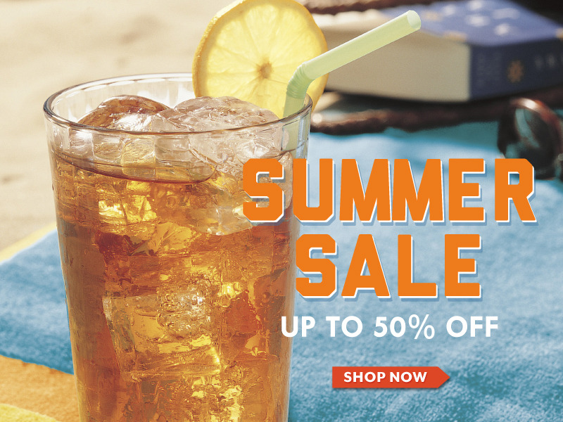 Our Summer SALE is on! Enjoy up to 50% off select items. Plus, don't miss our 80 Count Overstock SALE on select teas while supplies last!