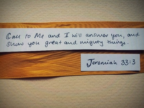 "spiritualinspiration:  ""I will answer them before they even call to Me…"" (Isaiah 65:24, NLT).  Have you ever thought about something you wanted or needed, and suddenly that need was supplied—before you ever even stopped to pray about it? God knows your needs before you even speak them. He wants to provide for you and answer the very desires of your heart. When you put Him first in everything you do, when you faithfully follow His commands, He'll pour out an extra portion of His goodness and favor upon you. Don't ever think God is too busy to answer your prayers. Don't ever think your needs are too small, or that you don't matter. He cares about everything that concerns you, and He loves to hear you call upon His name. You are very special to God, and He promises to answer in His timing, and sometimes, before you even call. Stand in faith knowing that God wants to shower you with His abundant blessings today."