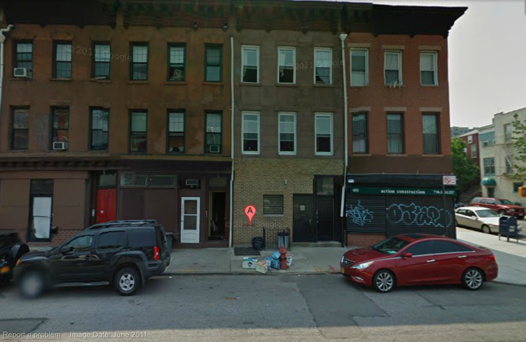 Future home. If anyone knows anyone needing a place in Brooklyn, let me know. I'm looking for roommate(s).
