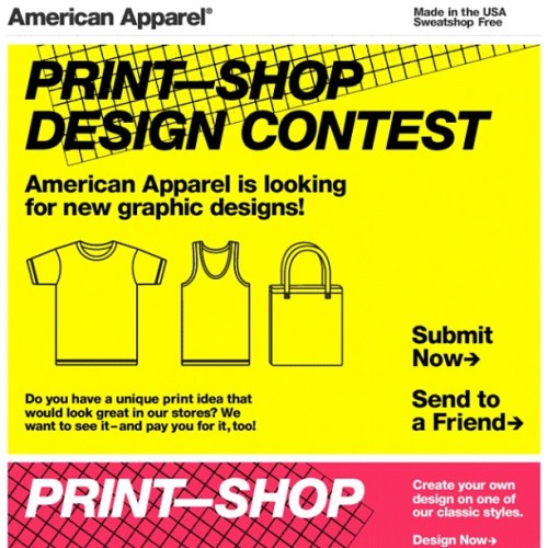 ohmysheek:  American Apparel is looking for Graphic Design Artist. (Taken with Instagram)