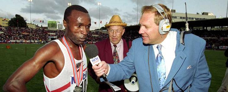This Day In Olympic History: July 10,1993 - Kenyan runner Yobes Ondieki became the first man to run 10,000 meters in less than 27 minutes.  pinterest.com/mysterkeepinit  keepinitrealsports.wordpress.com  facebook.com/pages/KeepinitRealSports/250933458354216  Mobile- m.keepinitrealsports.com
