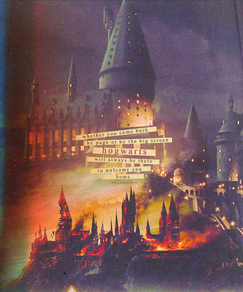 chamberofweasleys:  THE MAGIC BEGINS ϟ 16. Favourite scenery/location Hogwarts
