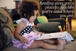parenting:  Reading is magic