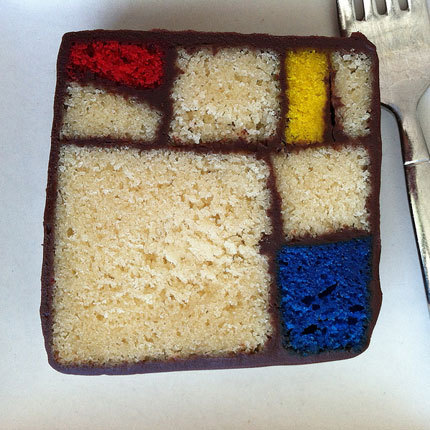 discoverynews:  Chef Caitlin Freeman's interpretation of Piet Mondrian's Composition in Red, Blue and Yellow (1930). Read More