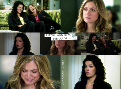 PSD #33  → RIZZOLI & ISLES (MF | BOX)  × requested by anon  × contains vibrance  × in darker caps, duplicate the base and set to screen  × like this post if download it