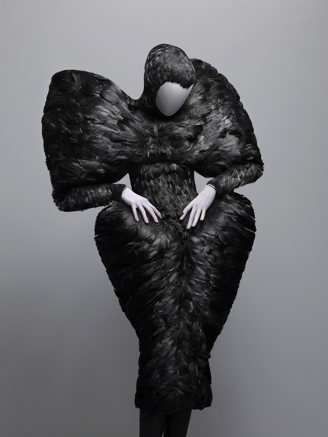 "ahumancuriosity:  silentstormshadow:  Alexander McQueen - ""SAVAGE BEAUTY"" {Exhibition} #1 **Don't forget the rest of this awesome collection!   Alexander McQueen is my god. What he created is so much better than the creation of earth and adam and eve haha."