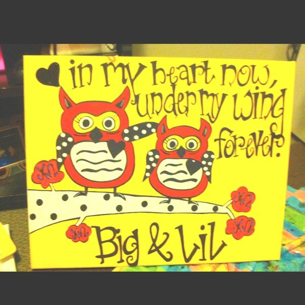 sorority-l0ve:  Chi Omega Big & Littles!  precious!
