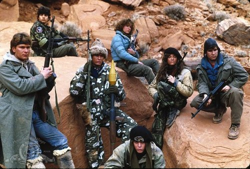 Movie #179 Red Dawn (1984) A group of high school kids head to the mountains as Colorado is sent into World War III. They quickly decide they wont just hide, but instead they will defend themselves and their town. P.S. I noticed they're remaking this movie, with the guy from Thor. Who knows if they can make this movie great without the 1980s vibe. ****