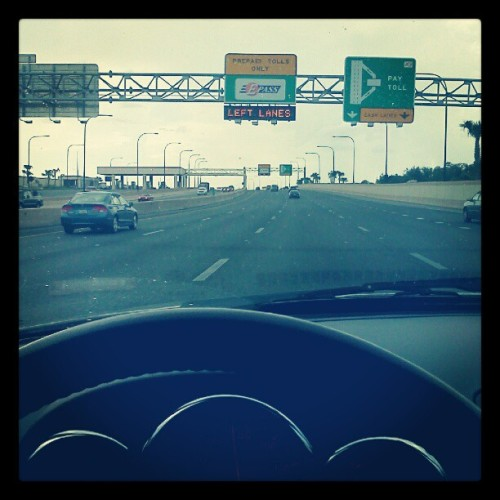 South Florida bound for who knows how long (Taken with Instagram at SR 408)