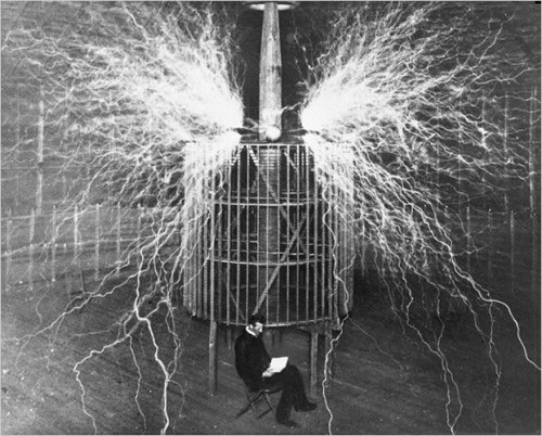 saintstigersloversart:  Happy Birthday Nikola Tesla!!!!