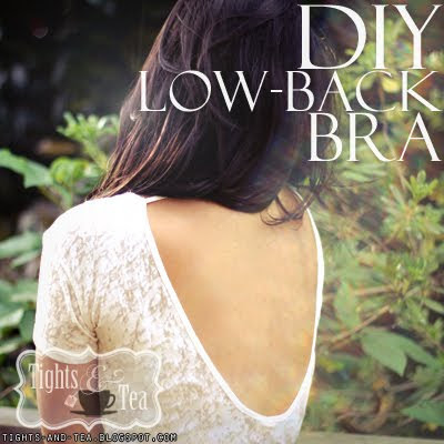 dizzymaiden:  DIY: 5-Minute Low-Back Bra