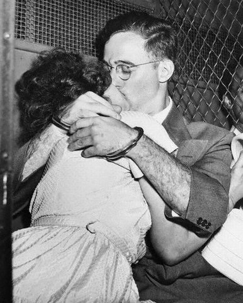 collective-history:  Ethel and Julius Rosenberg 1951.