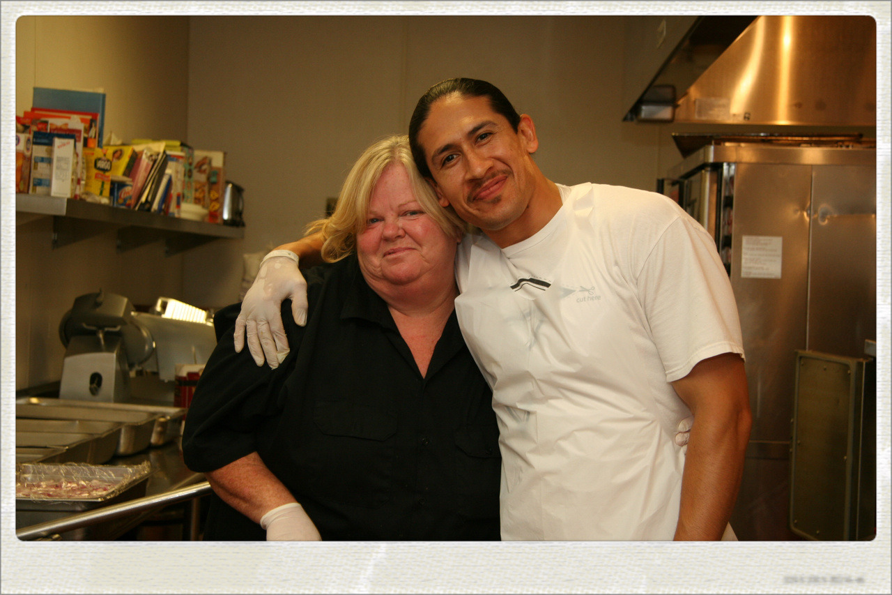 a day in the life at the Village of Hope : Rene & Karen in the kitchen!