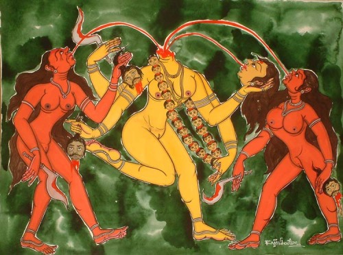 priestessofnothing:  chinnamasta. I love my headless mommy.