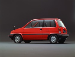 One (mirror) is often enough. definemotorsports:  Honda City R '1981–86