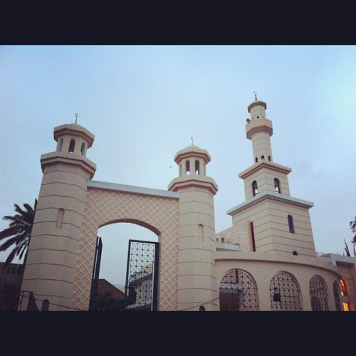 official opening 12th July 2012 masjid ul Rahma. #masjid #mosque #hurlingham #nairobi #kenya #architecture #islam #arabic  (Taken with Instagram)