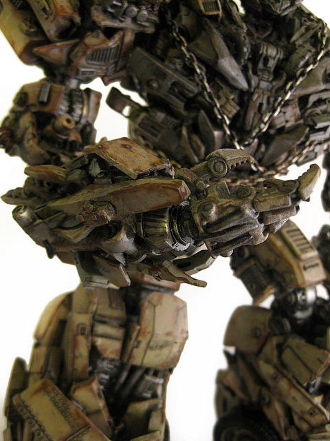Ultimate Megatron (right close up) by frenzy_rumble on Flickr.AMAZING transformer made real with a little help from Fakebuster and Shapeways 3D Printing