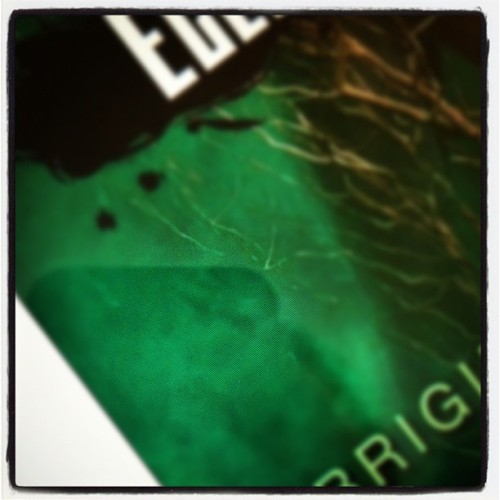 My favorite color = green #instagram #photoadayjuly #book  (Taken with Instagram)