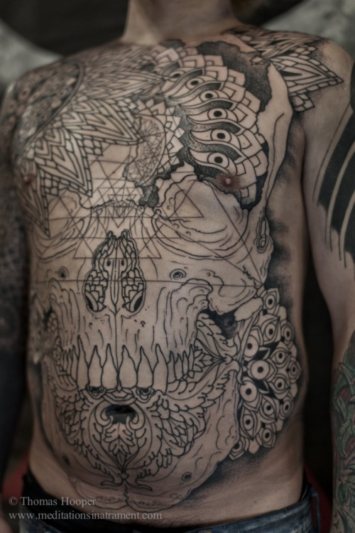 Tattoos by Thomas Hooper.