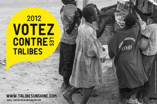 """Talibe Sunshine"" is a new project for street children spearheaded by rapper, Keyti in Dakar, Senegal. The project seeks to ""highlight and publicize the plight of talibés in a concerted and streamlined manner in order to put some public pressure on the main stakeholders to rectify the current unconscionable situation and treatment of these children."" Talibé is derived from the Arabic word for student ('Talib'). Talibés in Sénégal are often young children moving from rural villages into the city to get an opportunity to study the Koran. Sometimes these children are exploited for their labor and face an incredible amount of hardship just trying to get by on the streets. How will the project be carried out?  Utilizing a combination of photography, music, new media and journalism, a citywide publicity campaign will be launched and carried out for two (2) days in Dakar with the goal of: Educating the general population about the plight of Talibés. Humanizing and giving a voice to Talibés. Calling the main stakeholders in the Talibe dilemma to task and indirectly pressuring them to protect talibés and discourage the current trend in street begging by children. Creating a resource for organizations in combatting the current unsustainable Talibé situation."
