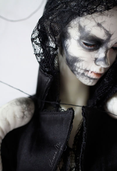 Queena's sp faceup 01—Dark Skull by Queena.M~ on Flickr.
