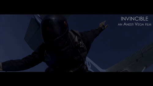 Screen grab from the Skydive scene in INVINCIBLE, premiering July 15th! Special thanks to my buddies at SkydiveTampa.com for helping pull this scene off!