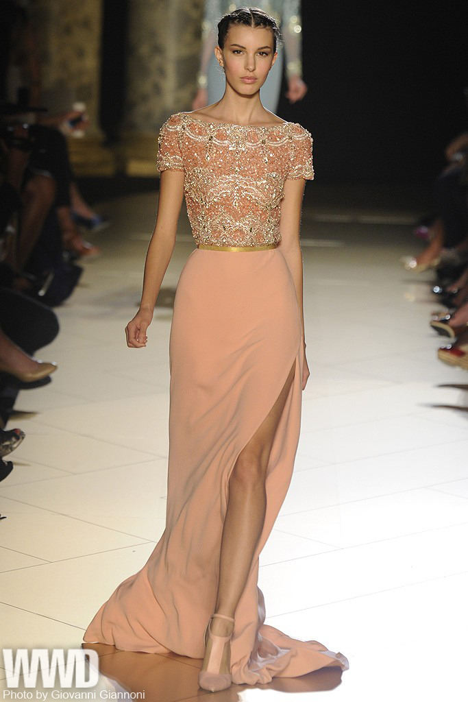 womensweardaily:  Elie Saab Fall Couture 2012