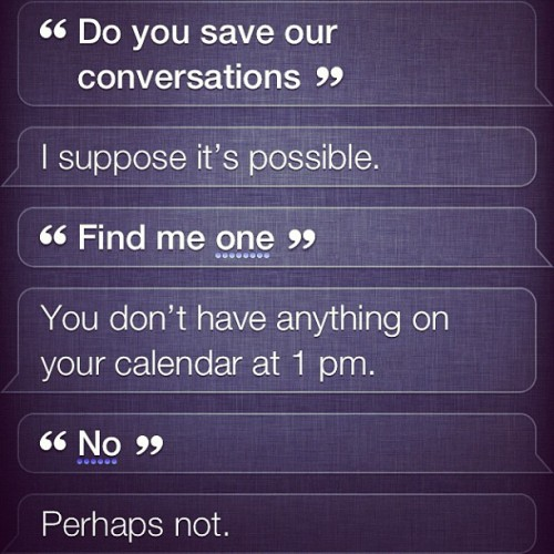 #TrainingSiri (Taken with Instagram)