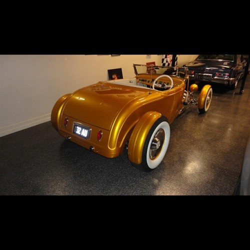 Paul McK's new baby #streetmachinemag  #hotrod (Taken with Instagram)
