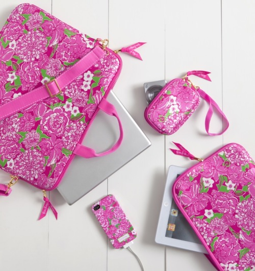 preppyprincess:  Lilly Pulitzer fall 2012 Tech cases