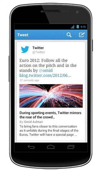 "Twitter makes changes to iPhone, Android apps New versions of the Twitter app are available for iPhone and Android phones, with the short-messaging blog noting that they offer ""several updates to bring you closer to everything you care about.""  That includes expanded tweets, something that Twitter began offering on its desktop version last month. Read the complete story."