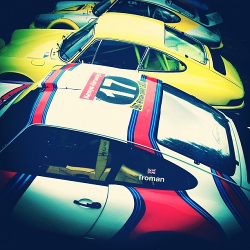 Ajar #porsche #rally #911  (Taken with Instagram)