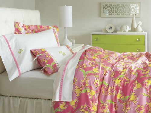 texasenchantment:  New Lilly Pulitzer for Garnet Hill bedding coming this fall!