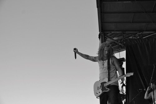 Travis Clark We The Kings Chula Vista, CA 2012 Vans Warped Tour Photo by: Christina Fuentes