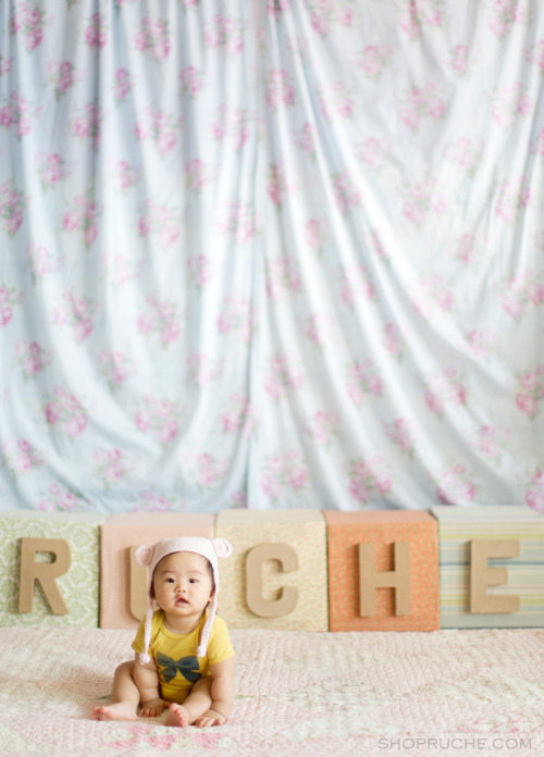 The vintage inspired baby collection, Itsy Bitsy shop is now open over at Shop Ruche!