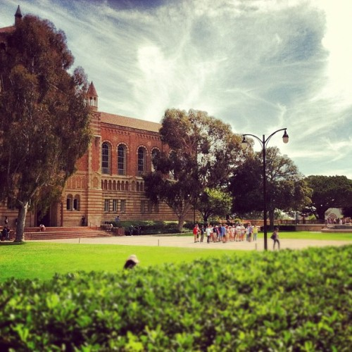 Taken with Instagram at UCLA Royce Quad
