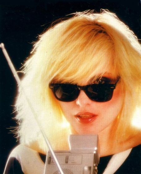 Debbie Harry, circa late '70s, early '80s.