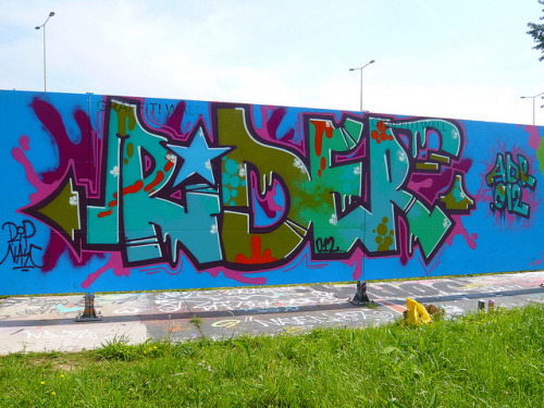Graffiti Capelsebrug by oerendhard1 on Flickr.