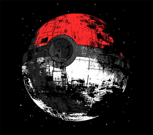 The 2 best things made into one.Star wars and Pokemon.. Amazing.
