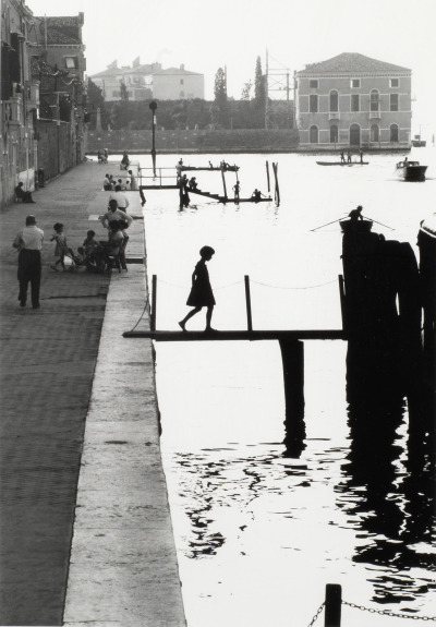 Willy Ronis, Venise Fondamenta Nueva,, 1959