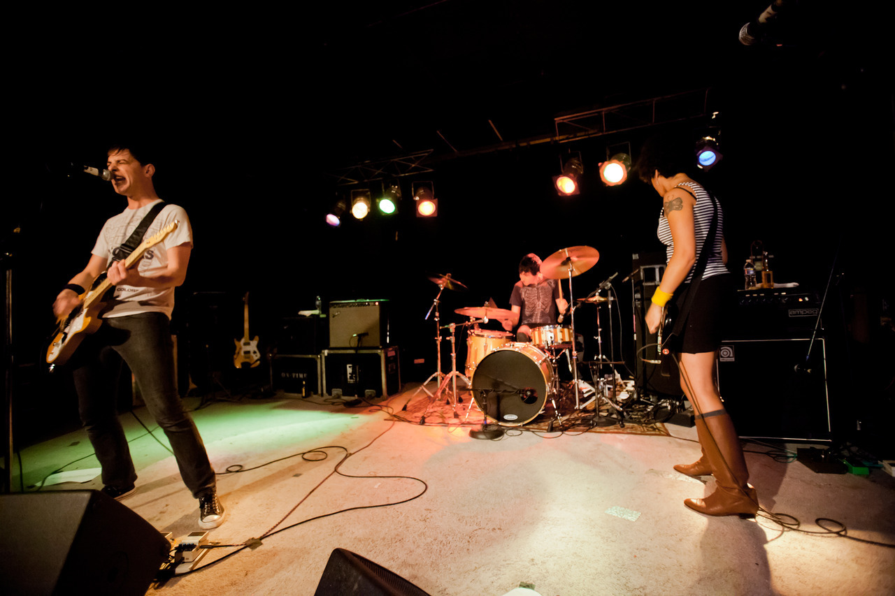 The Thermals at the Soapbox (2010) - Wilmington, North Carolina.