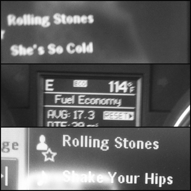 Cool tunes for a hot day. Btw that was in the shade.  (Taken with Instagram)
