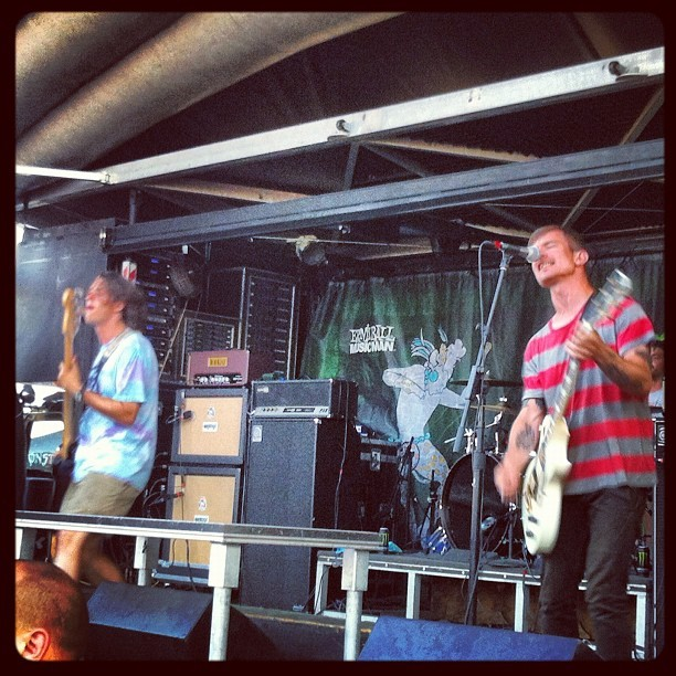 #titlefight (Taken with Instagram at Klipsch Music Center)