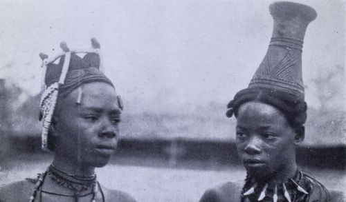 "ukpuru:  ""Belles of the Village"" - George Basden, early 20th century."