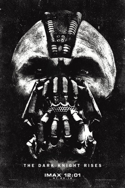 superpunch2:  Midnight IMAX screening poster for The Dark Knight Rises.  Via.