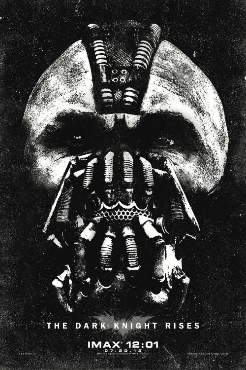 popculturebrain:  New IMAX Poster: 'The Dark Knight Rises' | Comic Book Movie  A must watch movie. Be it on IMAX, ordinary cinema or on dizzying 3D.