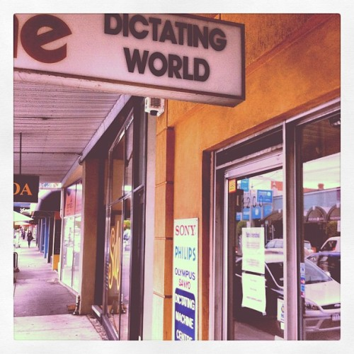 Dictating World. #whatyearisthis  (Taken with Instagram)
