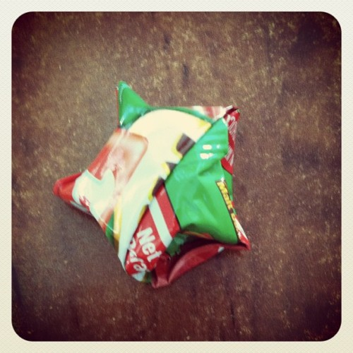#milo #fuze #star #origami (Taken with Instagram)
