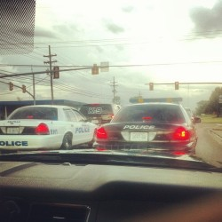 That moment when every car around you is a cop.  (Taken with Instagram)